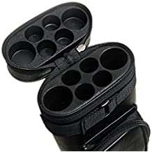 2x4 Hard Oval Pool Cue Billiard Stick Carrying Case