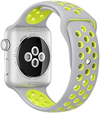 APPLE Watch Pulsera, lamshaw silicona para reloj de pulsera ...