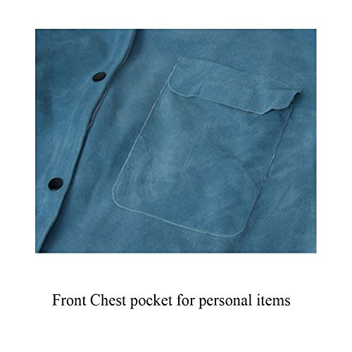Heat Resistant & Flame-Resistant Leather Welding Jacket ...