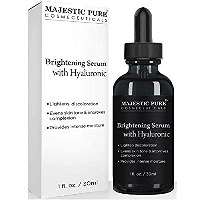 MAJESTIC PURE Hyaluronic Acid Serum for Face - Best Advanced Formula for Skin Brightening, Hydration and Facial Moisturizing - Premium Help For Anti Aging and Anti Wrinkle - 1 fl oz - 4036413 , B07F7G3PJW , 454_B07F7G3PJW , 23.5 , MAJESTIC-PURE-Hyaluronic-Acid-Serum-for-Face-Best-Advanced-Formula-for-Skin-Brightening-Hydration-and-Facial-Moisturizing-Premium-Help-For-Anti-Aging-and-Anti-Wrinkle-1-fl-oz-454_B07F7G3PJW , usexpress.v