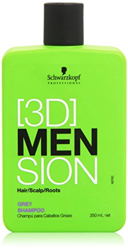 Schwarzkopf 3d Mension Champu para Cabello Grises - 250 ml: Amazon.es: Belleza