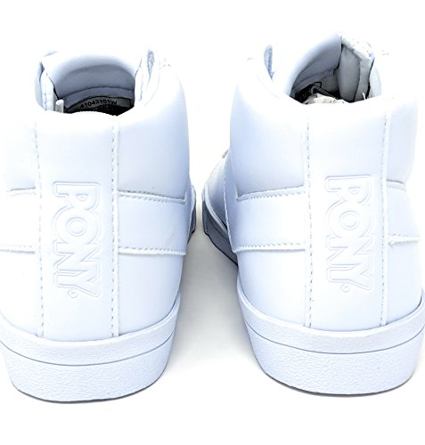 Pony Unisex Topstar Hi White M 6/W 8 sBOIFPbxN