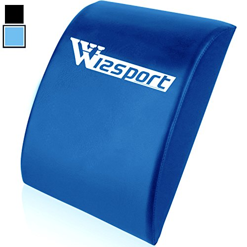 Wizsport Abdominal Mat Fitness Ab Pad Sit Up Core Exerciser Blue (Sit Up Pad compare prices)