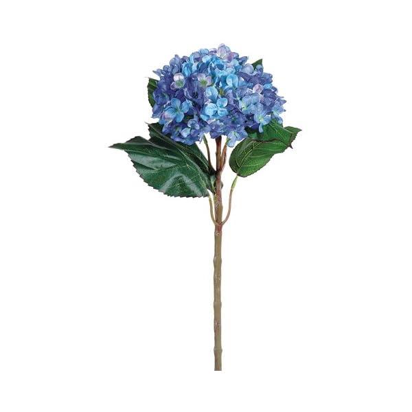 22″ Hydrangea Spray Blue (Pack of 6)