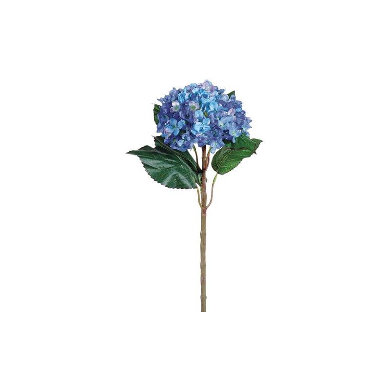 """silk flower arrangements 22"""" hydrangea spray blue (pack of 6)"""