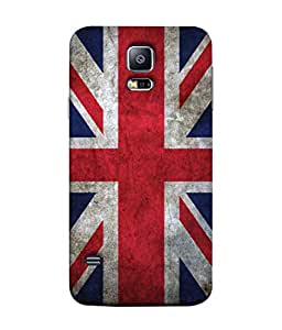 ColorKing Football England 12 Multi Color shell case cover for Samsung S5