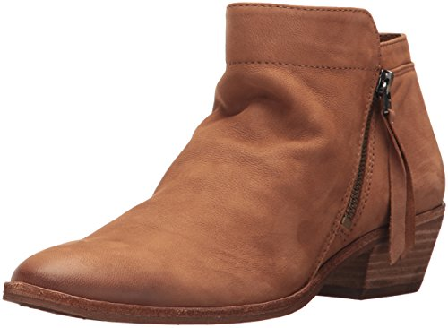 Sam Edelman Women's Packer Ankle Boot, Deep Saddle Leather, 9 Medium US