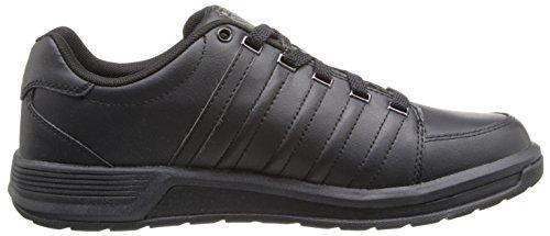 K-Swiss Berlo Sneaker,Black/Black,9 M