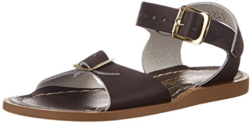 (Salt Water Sandals by Hoy Shoe Surfer,Brown,7 M US Toddler)