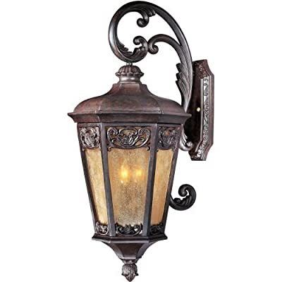 "Maxim 40175 3 Light 30.25"" Tall Outdoor Wall Sconce from the Lexington VX Collec,"