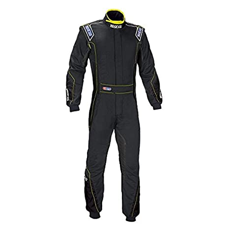 Amazon.com: Sparco Eagle RS-8 Racing traje, 52, Negro ...