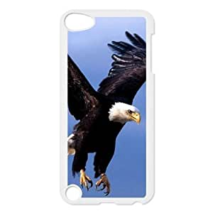 Bald Eagle Unique Design Cover Case for Ipod Touch 5,custom case cover ygtg578483