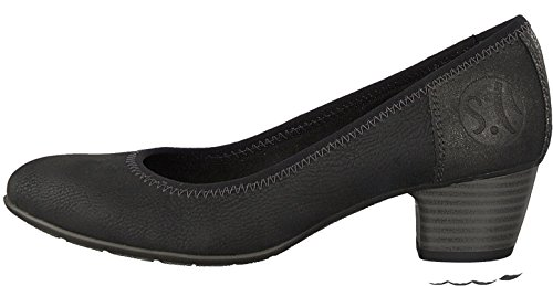 Court S oliver Women's Black Shoes w1qEpR1