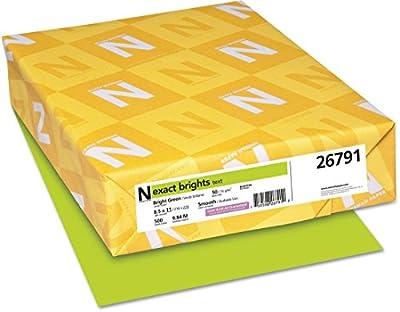 "NEENAH PAPER 8-1/2"" x 11"" Bright Multipurpose-Paper (26791)"