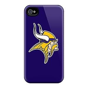 Tough Iphone OCKtvrj4861OfSAp Case Cover/ Case For Iphone 4/4s(minnesota Vikings 3)