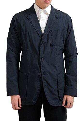 gianfranco-ferre-mens-dark-blue-three-button-light-blazer-sport-coat-us-42-it-52