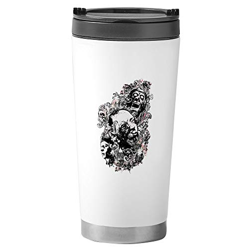 Stainless Steel Travel Drink Mug Zombie Apocalypse