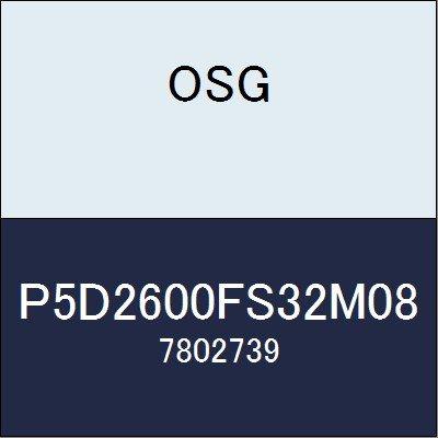 OSG ドリル P5D2600FS32M08 商品番号 7802739