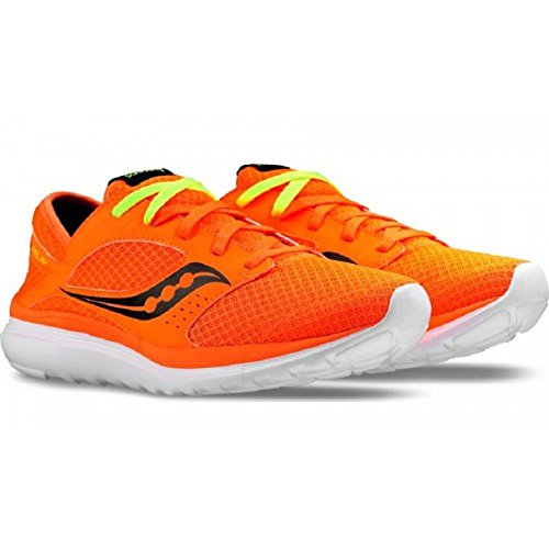 Saucony Men's Kineta Relay Fitness Shoes, Blue, One Size Orange/Black