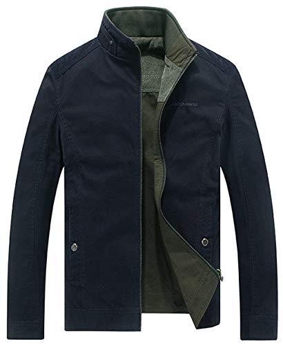 Moda A Tasche Lunghe Tuta Sportiva Hx 2 Uomo Del Cerniera Abbigliamento Taglie Outdoor Giacche Maniche Laterali Blau Rivestimento Giù Comode rBrwfq