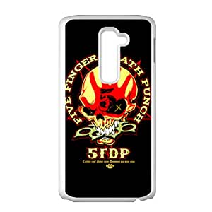 DASHUJUA Five Finger Death Punch Brand New And Custom Hard Case Cover Protector For LG G2