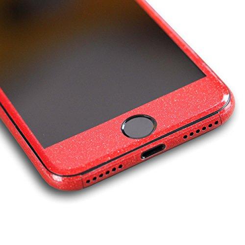 AppSkins Folien-Set iPhone 7 Full Cover - Diamond red