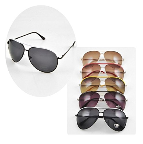 Aviator Sunglasses By the 1/2 Dozen 100% UV Wedding Party and - For Wedding Sunglasses Guests
