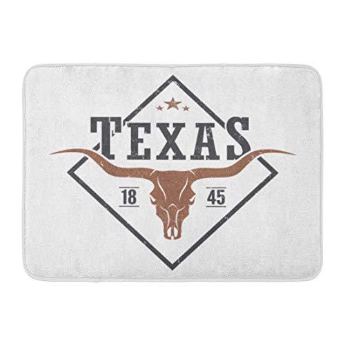 Texas Longhorns Bath Rug Longhorns Bath Rug Longhorns