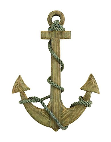 24 Wooden Boat Anchor with Crossbar
