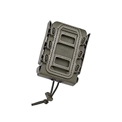 G-CODE Rifle Soft Shell Scorpion Mag Carrier (OD Green) with Belt Loop 100% Made in USA