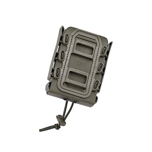 (G-CODE Rifle Soft Shell Scorpion Mag Carrier (OD Green) with Belt Loop 100% Made in USA )
