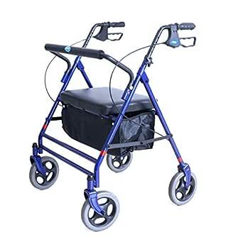 Amazon.com: Invacare Bariatric Rollator, con asiento ...