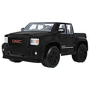 Amazon.com: Rollplay 12V GMC Sierra Denali Blackout Edition: Toys