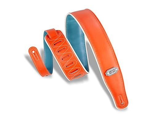 Orange Leather Strap - 6