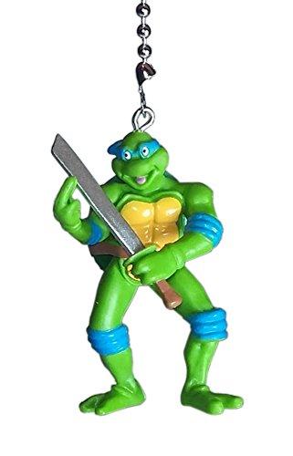 TMNT Teenage Mutant Ninja Turtles Ceiling Fan Pulls by Wooden Androyd Studio (Leonardo (Custom Tmnt Costumes)