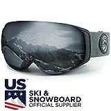 WildHorn Outfitters Roca Ski Goggles & Snowboard Goggles- Premium Snow...
