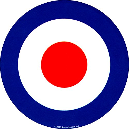 Mod Target - Red/White/Blue - Die Cut Sticker/Decal