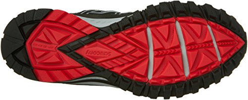 Saucony Excursion TR10 Wide Men 8 Grey | Black | Red by Saucony (Image #3)