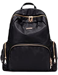 Luckysmile Women Girl Casual Nylon Backpack Purse Travel Work College School Bag