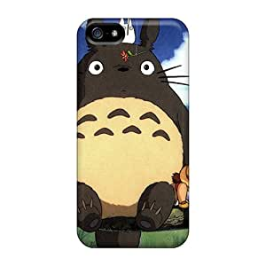 Hot My Neighbor Totoro First Grade Tpu Phone Case For Iphone 5/5s Case Cover