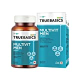 TrueBasics Multivit Men One Daily, Multivitamins, Multiminerals, Omega-3, 90 Tablets