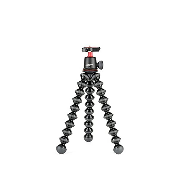 41h9Qpy9l9L. SS600  - Joby JB01507 GorillaPod 3K Kit. Compact Tripod 3K Stand and Ballhead 3K for Compact Mirrorless Cameras or Devices up to…