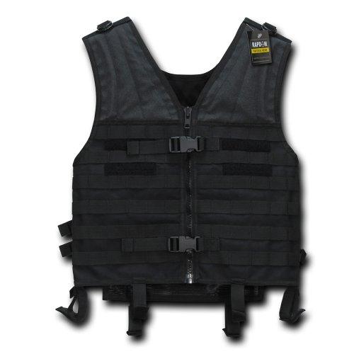 RAPDOM Tactical Modular Style Vest, Black
