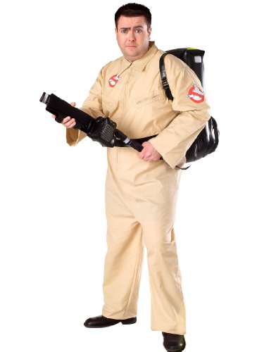 Ghostbuster Jumpsuit Movie Costume Fight Ghosts In Style Theatrical Men Costume