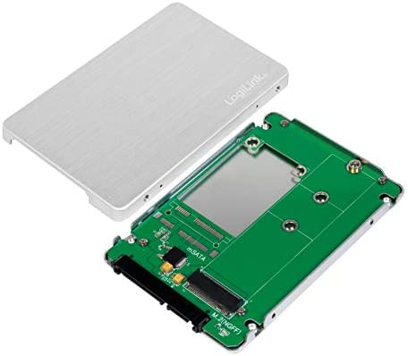 LogiLink AD0021 - Carcasa de Aluminio para SSD M.2 NGFF SATA (2,5 ...