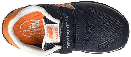 NEW BALANCE - Zapatilla deportiva, fabricada en piel azul, Niño, Niños