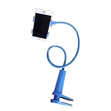 TEFIIR Soporte de Montaje, Flexible 360 Clip teléfono Celular ...