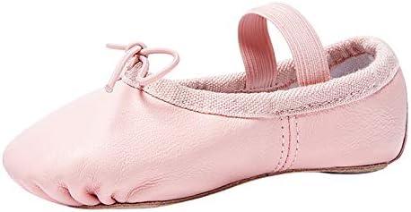 STELLE Premium Authentic Leather Ballet Slipper//Ballet Shoes Toddler//Little Kid//Big Kid