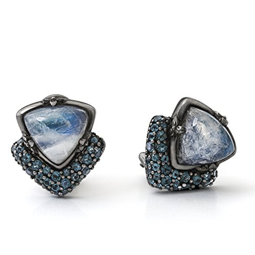 Stephen Dweck femme  Argent 925/1000  Argent #Silver Triangle   Multicolore Mondstein Topas