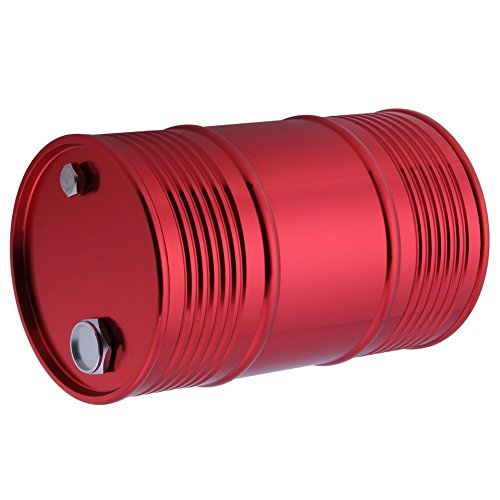 HobbyPark Metal Oil Drum Container For Axial SCX10 TAMIYA CC01 RC4WD D90 D110 TF2 1/10 RC Rock Crawler Truck Car Decor Accessories